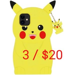 NEW Pikachu Soft Shockproof iPhone 11 Phone Case